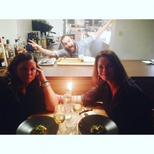 Last week catch up diner with my friend Ingrid Wehellip