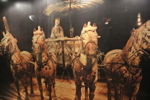 From 18 November 2012 till 17 February 2013 (that's today!), the Brussels Bourse hosted the landmark Terracotta Army exhibition : a reconstitution of the terracotta army of the first Emperor of China  Qin Shi Huang.