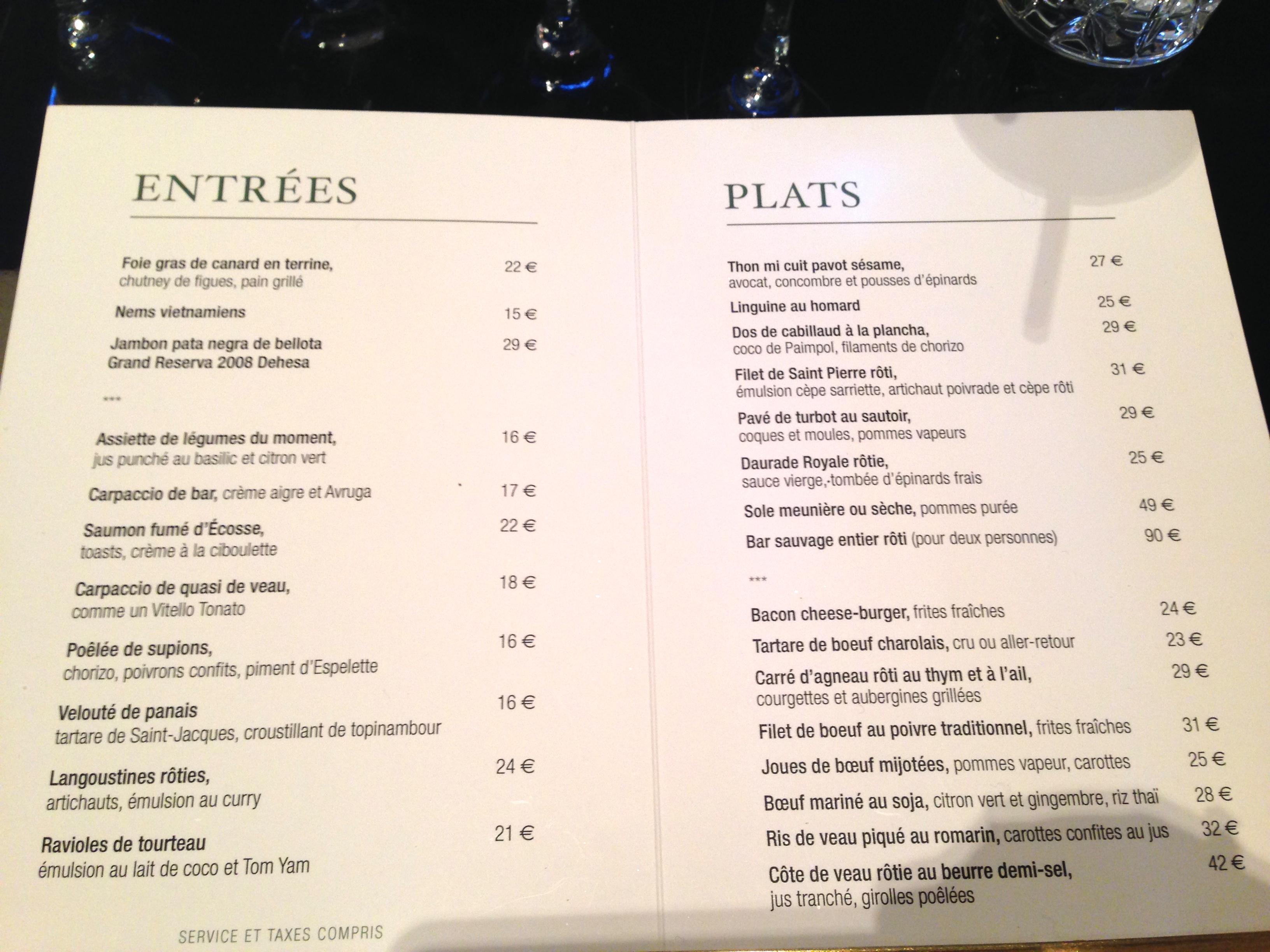 Tried Amp Enjoyed Art Lunch At Monsieur Bleu Paris The