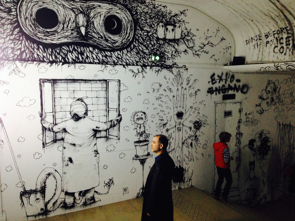 21 Palais de Tokyo INSIDE by The Squid Stories blog Kate Stockman reports on contemporary culture