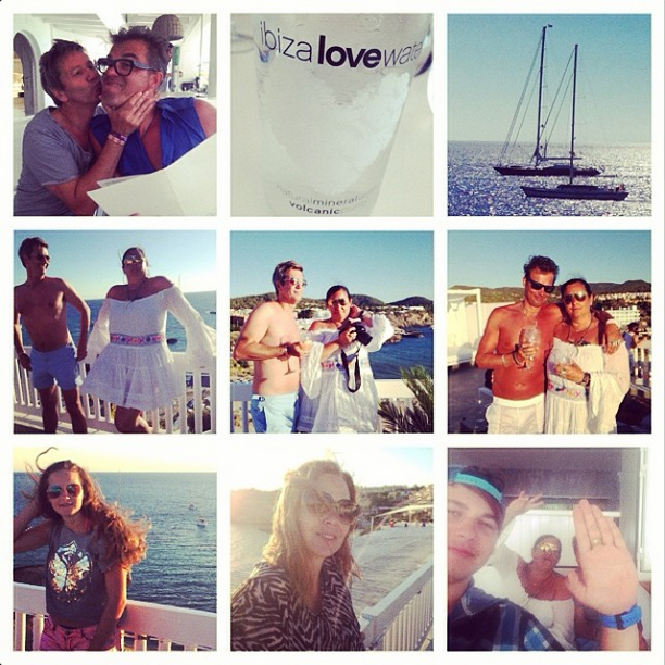 Instagram The Squid Stories 2014 Best of_Food DRINKS The Cotton Beach Club Ibiza