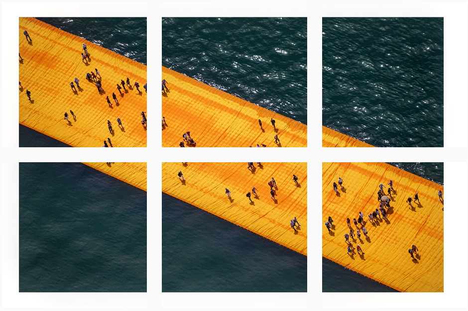 The Floating Piers by Christo_thesquidstories 3
