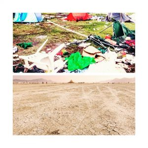 The stricking difference in mentality between pukkelpop and burningman campershellip