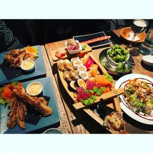 Mmmmmmmmmm sushiantwerp lunch food bestsushi foodie