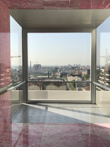 The new Fondazione Prada tower Milan